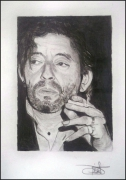 dessin gainsbourg : Serge Gainsbourg